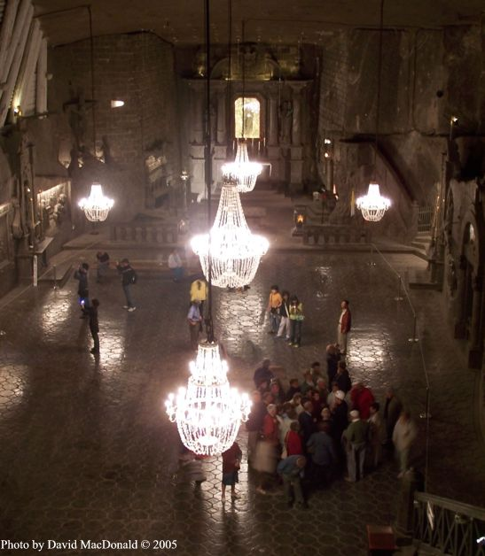 Poland Salt Mine