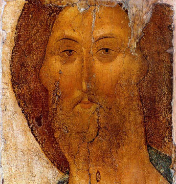 Christ the Redeemer (1410s, by Andrei Rublev)