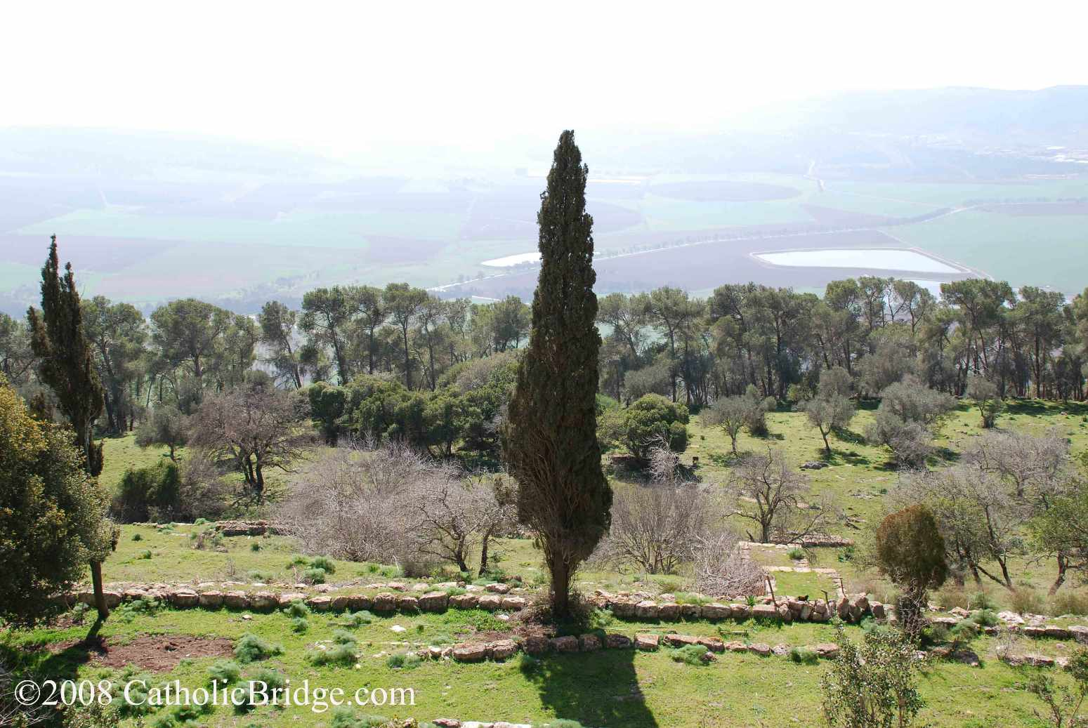 Mount Tabor, site of the Transfiguration - Israel