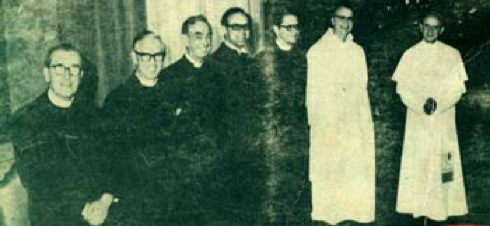 Pope Paul VI with protestants