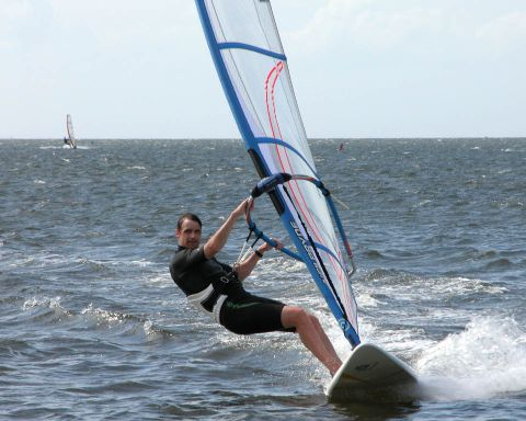 Rod windsurfing