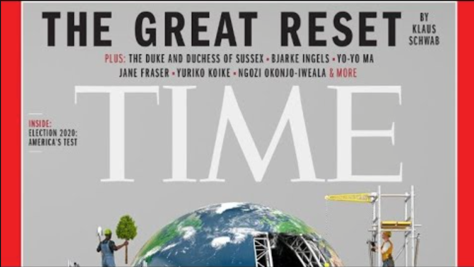 Time Magazine, the great reset